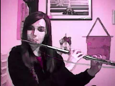 "This is Nyan Cat played on my flute! I made this video for fun and because I was bored. Don't mind my messy playing and enjoy! :D For sheet music, Google, ""N..."