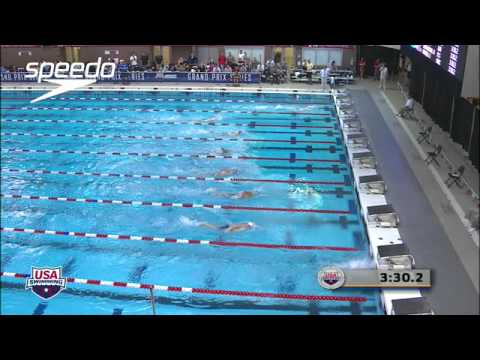 Men&#039;s 400m Freestyle C Final - 2012 Columbus Grand Prix