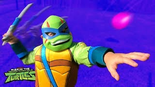 Heroes and Villains Smash Challenge! Rise of the Teenage Mutant Ninja Turtles Gear Test | KIDCITY