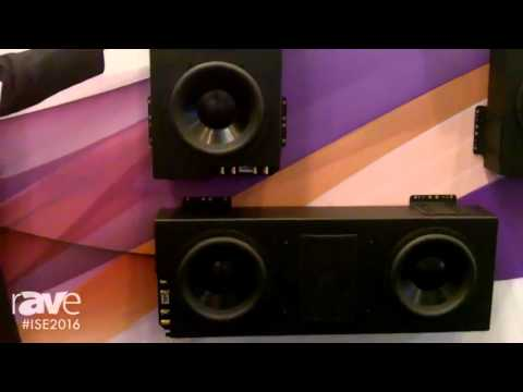 ISE 2016: Wisdom Audio Overviews Sage Cinema Series of Custom Install Loudspeakers