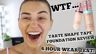 Tarte Shape Tape First Impression & Review... BEST FOUNDATION EVER!?!?