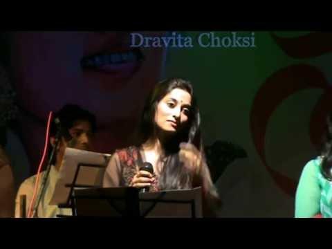 Dravita Choksi Performing Live Tumhe Yaad Karte Karte