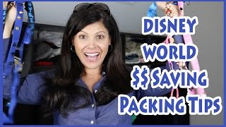 Disney World Packing Money Saving Tips