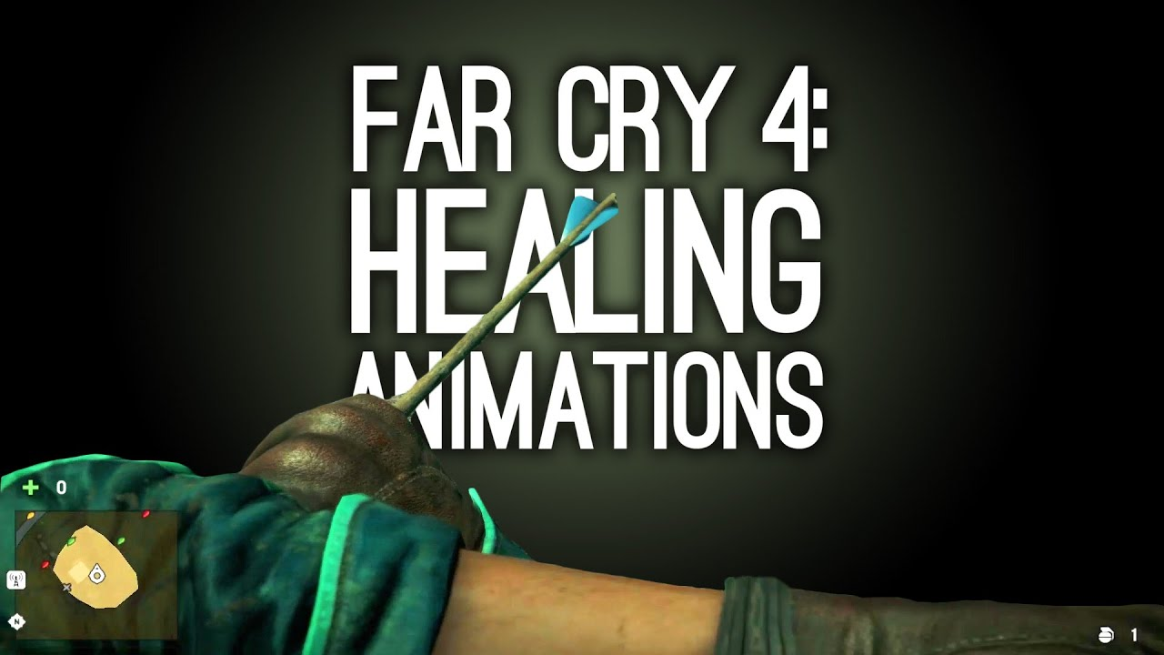 how to craft healing syringes in far cry 4