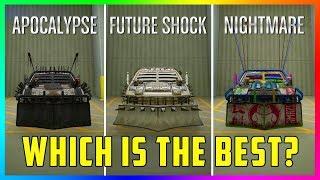 Apocalypse VS Future Shock VS Nightmare - Which Is The BEST Arena War Vehicle Type In GTA Online?