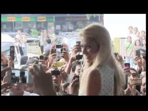Paris Hilton in the Philippines