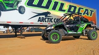 Arctic Cat Wildcat Dyno & Street Tests - Evolution Aluminum Bazooka Exhaust & VFlow Air Intake EVOPS