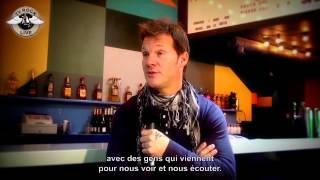 FOZZY Chris Jericho Interviewed in France -- Traduction en Français
