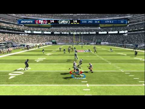 Madden 13:YU NO PLAY TIM TEBOW–Madden 13 ONLINE GAMEPLAY-JETS vs 49ERS