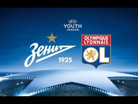 Юношеская Лига УЕФА: «Зенит»-м — «Лион»-м / UEFA Youth League: Zenit-Y — Lyon-Y