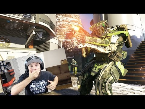 FIRST GAME OF THE YEAR!! INFINITE WARFARE MULTIPLAYER GAMEPLAY