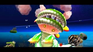 Super Mario Galaxy - Boss 1 - Dino Piranha - Full-HD (1080p) Dolphin Nintendo Wii Emulator