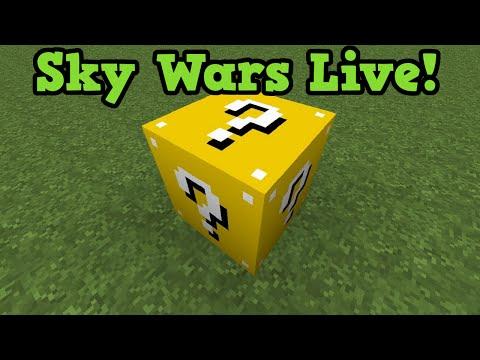 Minecraft Xbox 360 MiniGame Mod: Lucky Block Sky Wars