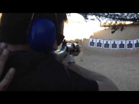 Outdoor shooting Range: Las Vegas, Nevada
