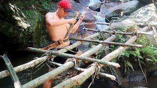 Người Rừng: Tập 3_Làm Bàn Ăn Trên Mặt Nước | Primitive Technology