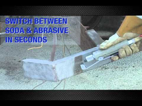 Abrasive Blasting - The Dual Blaster - IN ACTION - From Eastwood