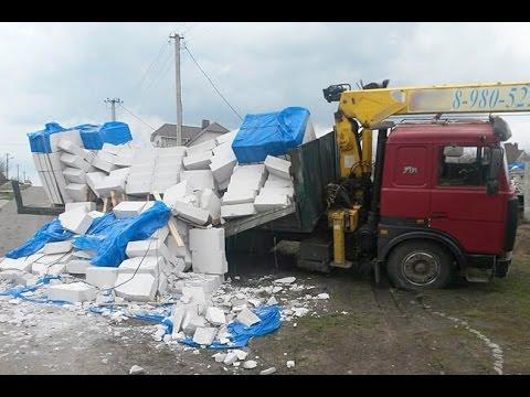 Потеря груза - Аварии и ДТП грузовиков