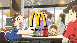 McDonald's Anime Commercial 1 English Subbed