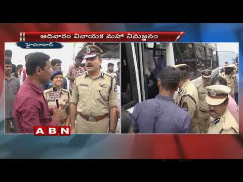 GHMC Commissioner Dana Kishore & Police Commissioner Anjani Kumar face to face over Ganesh immersion