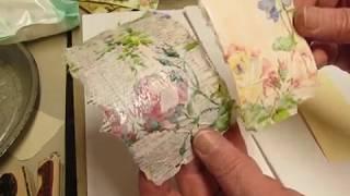 Making Ephemera with Gorgeous Napkins