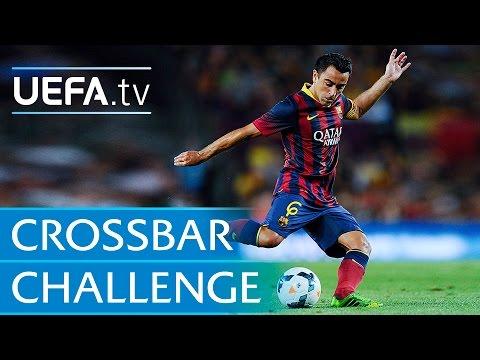 Xavi Hernández: Classic Crossbar Challenge
