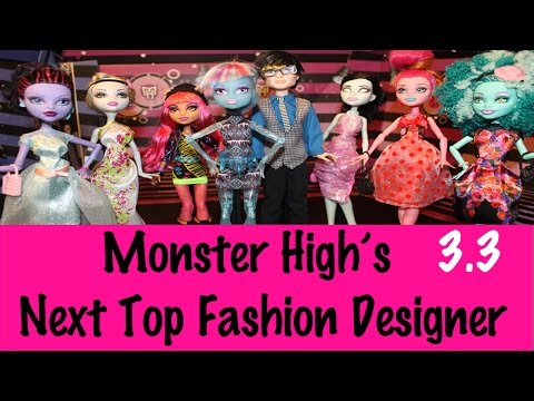 Monster High: Next Top Fashion Designer   Season 3   Ep. 3