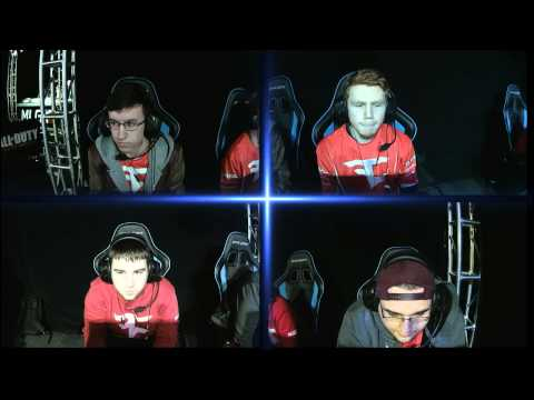 Optic Gaming vs Faze Red - Game 2 - WBF - North American Championships