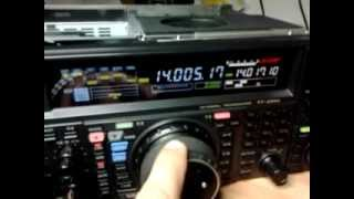 FT-2000 mods test cw