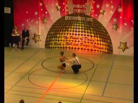 Anna Schramm & Sebastian Schramm - Norddeutsche Meisterschaft 2012