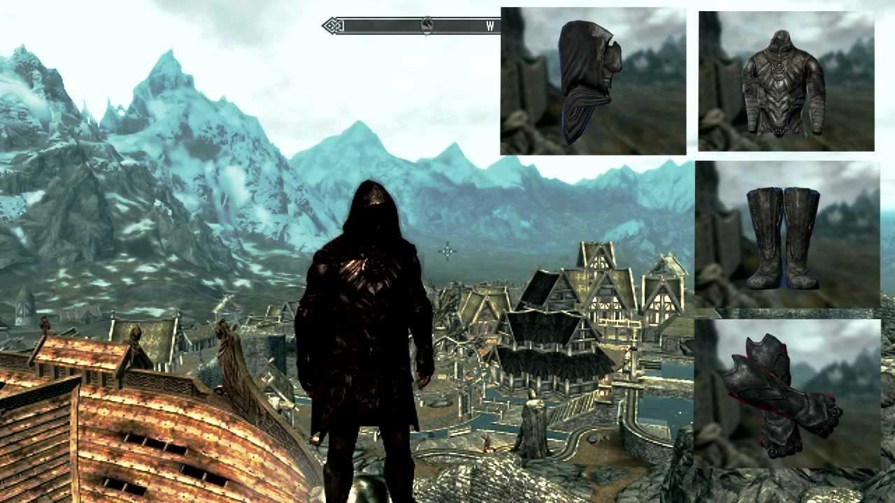 Blade Armor Skyrim Skyrim Armor's Nightingale
