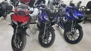 Yamaha R15 V3 MotoGP Matt Gray Red Blue