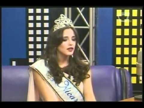 Adriana Dorn - Miss Nicaragua 2011 Video Interview