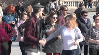 FLASH MOB - Rueda na Placu Zamkowym