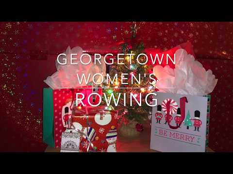 ALL I WANT FOR CHRISTMAS IS CREW// Georgetown Women's Rowing