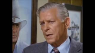 Dallas: B.D Calhoun kills Garrett Gordon in J.R's office.