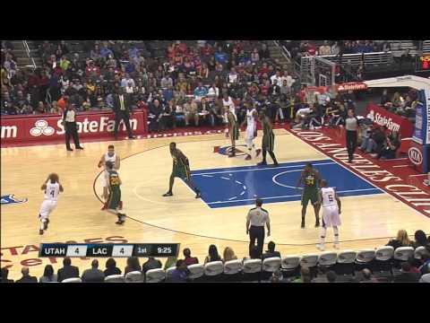 Randy Foye 11-12 Clipper Highlights vs. Utah Jazz