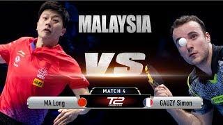 Ma Long vs Simon Gauzy   R16   T2 Diamond 2019 Malaysia