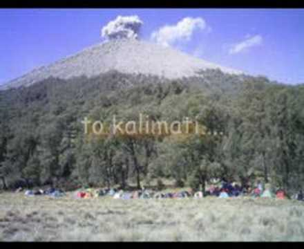 Mahameru Mountain