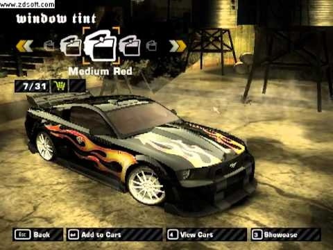 Need for Speed Most Wanted: Razor's Mustang GT tuning (mod)