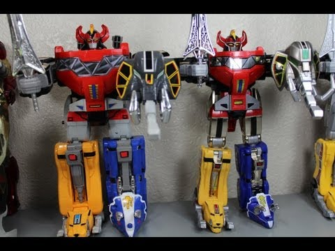 Mighty Morphin Power Rangers Legacy & 1993 Dino Megazord Toy Review