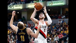 Trail Blazers 114, Pacers 96 | Highlights | October 20th, 2017