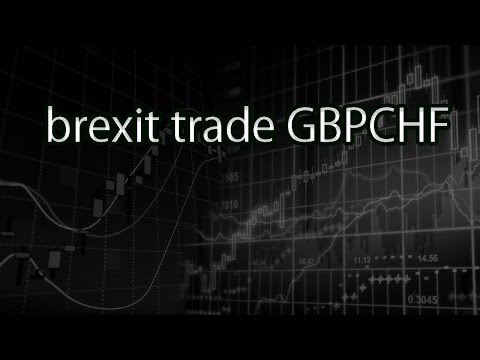 brexit trade GBPCHF
