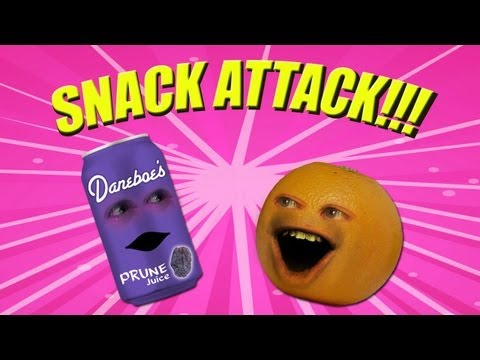 Annoying Orange - Snack Attack (ft. Jamie Oliver) Music Videos