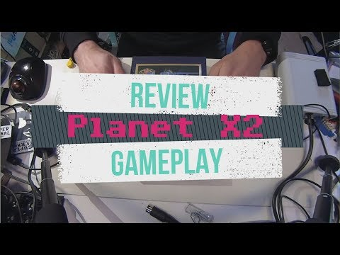 C64 Game - Planet X2 - Unboxing and review - 50 Hz