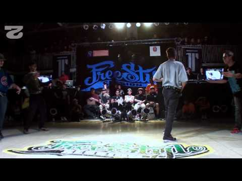 Freestyle Session Brasil 2012 - Diademaica Vs All Step 3/4