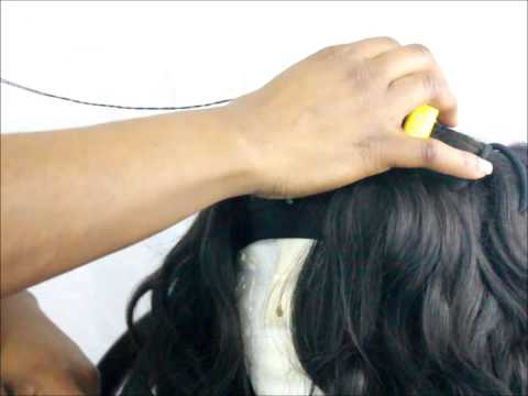 Flawless U-Part Wig   Fold Over Method w/ Closure   Rapunzel Hair Shop