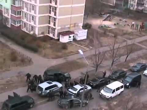 Detencion de 7 mafiosos en Kiev (Ucrania)