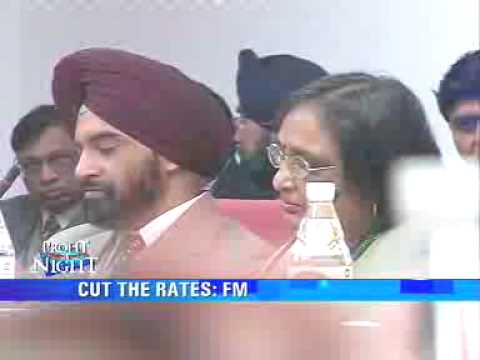 FM wants banks to cut interest rates