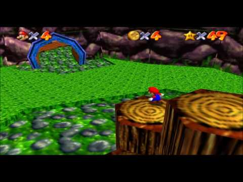 GAME REVIEW: Super Donkey Kong 64 (Super Mario 64 ROM hack)