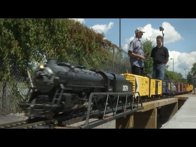TrainMasters TV - Barry's Backyard Garden Railroad